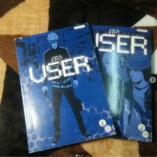 User Comic Book 1 & 2