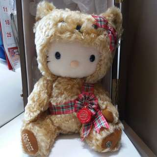 HERMANN TEDDY BEAR HELLO KITTY mohair 公仔全球限量235/500  絕版 罕有