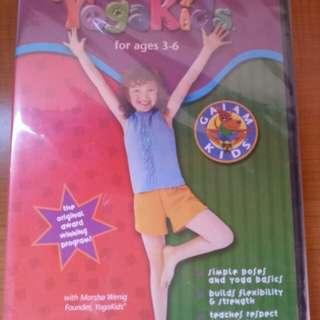 Yoga kids dvd