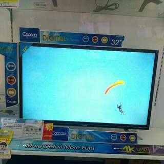 Coocaa Led Digital TV (Bisa dicicil free 1x angsuran)