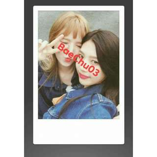 Red Velvet Wendy Joy Polaroid Fujifilm