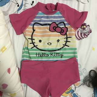 Hello Kitty Swimming costume suit swimwear