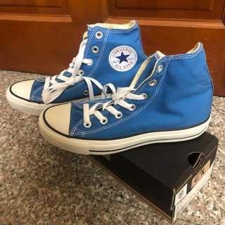 🚚 全新converse chuck Taylor all star 帆布鞋 藍色