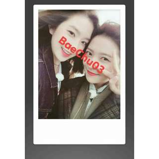 Red Velvet Irene Yeri Polaroid Fujifilm