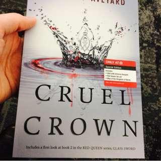 Red Queen Cruel Crown by Victoria Aveyard