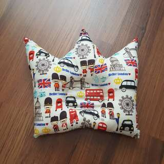 Baby dimple pillow handmade ( crown )