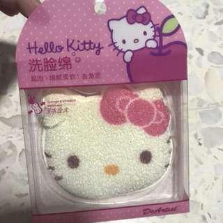 Hello Kitty Face wash sponge
