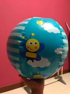 Inflatable beach ball from Early Learning Centre ELC