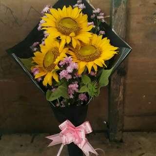 Bunga matahari/bunga wisuda/kado ultah
