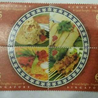 Singapore Local Delights Stamp