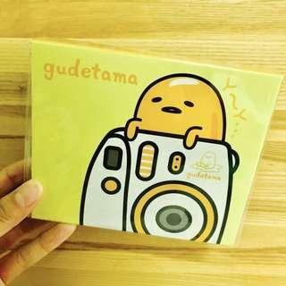 蛋黃哥 Gudetama。立可拍、拍立得、立即拍。相簿、相本。可放3.5''*2.5'' 40張