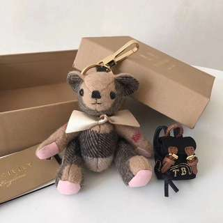 Burberry Brown Ted Charm