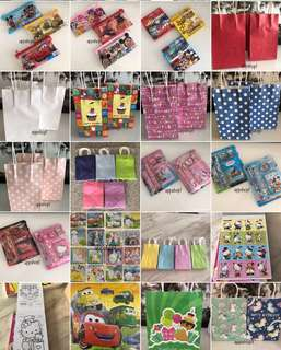 Goody bag, goodies bag, kids party door gift