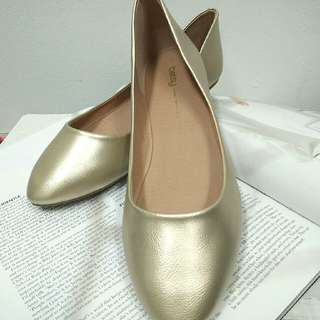 Light Gold Shoes