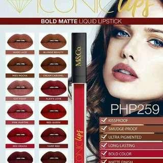 Bold Matte Liquid Lipstick