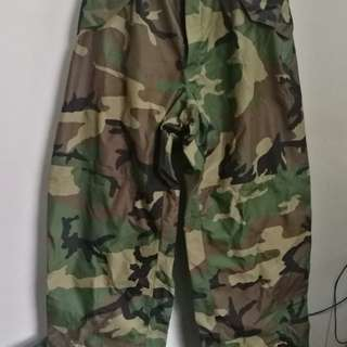 Military pants for cover camouflage