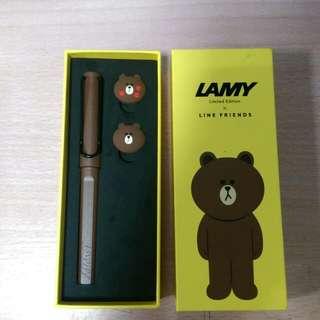 LAMY 鋼珠筆 LINE聯名款