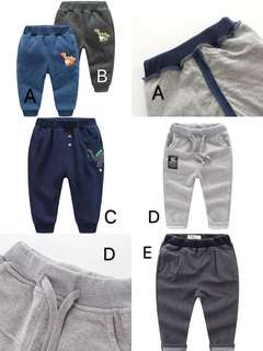 Brand new Long pants for boys (5-6 years old)