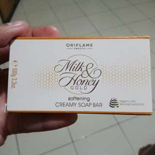 Milk & Honey Gold Softening Creamy Soap Bar