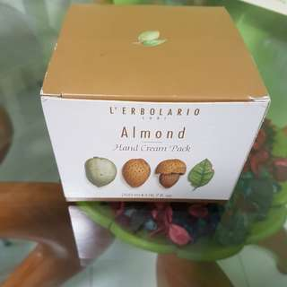 BNIB Almond Hand Cream Pack