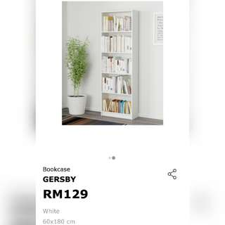 IKEA BOOKCASE GERSBY