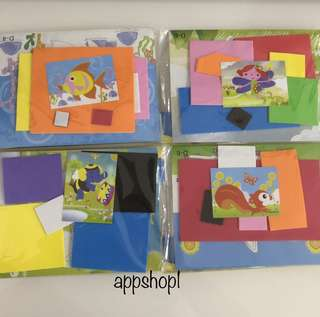 DIY handicrafts- children party goodies bag, goody bag packages