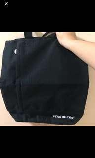 Starbucks bagpack / tote bag