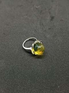 多明尼加藍琥珀戒指