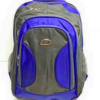 Samsonite bagpack  Size 17*11 inch  4 compartment  Waterproof  PHP550