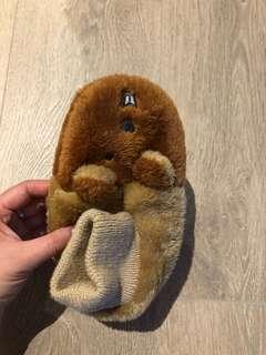 Kids bear bed socks age 4-8
