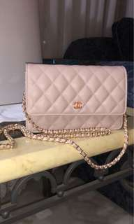 Chanel inspired side bag