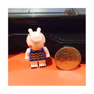 Mini Peppa Pig Brick Figure