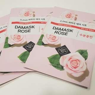 Etude Sheet Mask Rose