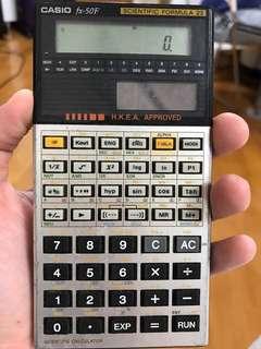 Casio 計算機 Casio fx-50F
