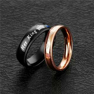 couple promise ring *engraving*