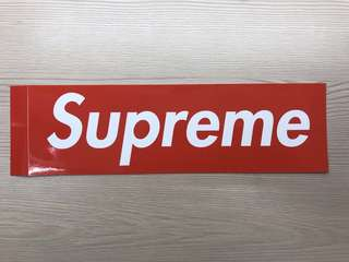Supreme Sticker 貼紙