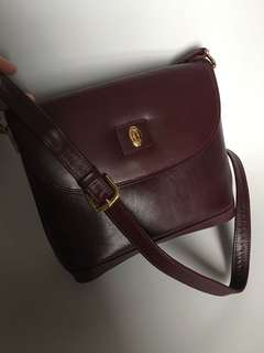 Cartier leather vintage bag 鏈袋 背包 背囊 Prada wallet Backpack