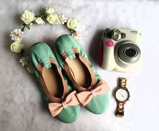 Light Green Doll shoes