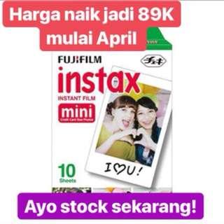Refill instax mini 10 lbr ( no box )