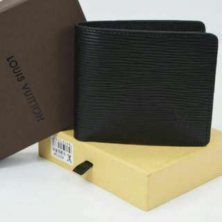 Louis Vuitton Men Wallet Black