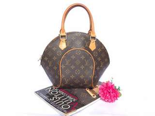 Authentic Louis Vuitton Mono Ellipse PM Bag