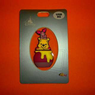 Disney 8G USB 手指-Winnie the Pooh