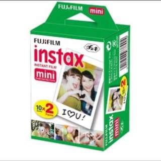 Refill Instax Mini Twinpack ( 20lbr)