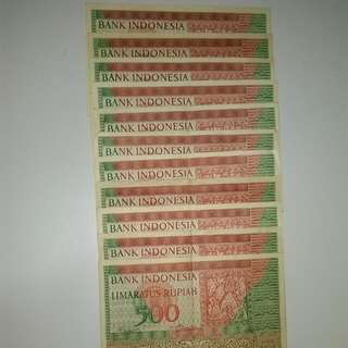 Indonesia Vintage Currency ( 1952 )