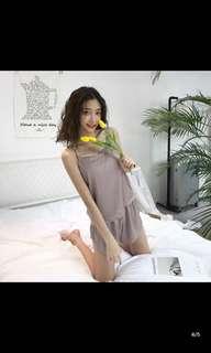2018 輕薄舒適吊帶短褲睡衣 (包郵)