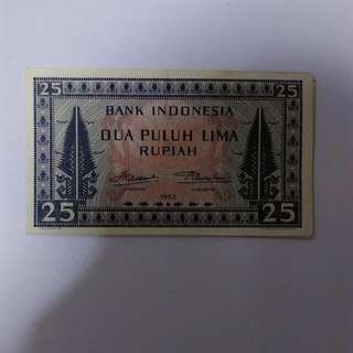 Indonesia Vintage Currency