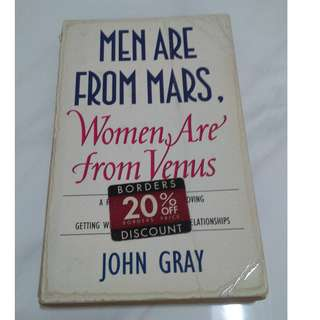 [Educational Book] Men are from Mars, Women are from Venus: Men Are from Mars, Women Are from Venus AND How to Get What You Want in Your Relationships