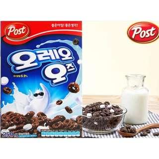 🚚 【韓國】 POST Oreo O's鬼馬米其林巧克力棉花糖麥片 500g