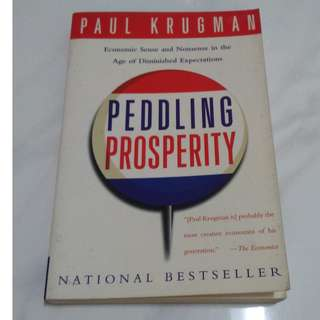 [Educational Book] Peddling Prosperity: Economic Sense and Nonsense in an Age of Diminished Expectations