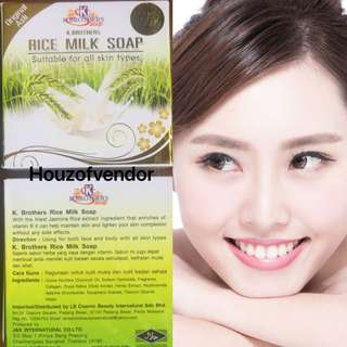 Rice Whitening Milk Soap